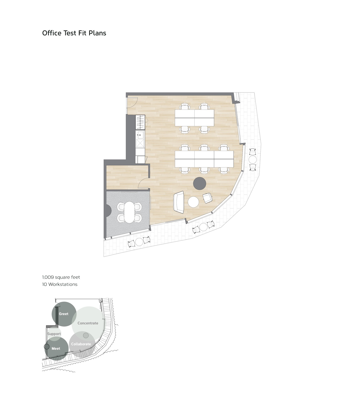 Test / Example Floorplan of an Office 01